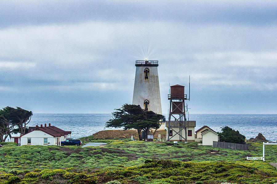 Piedras Blancas Lighthouse  by Donald Pash
