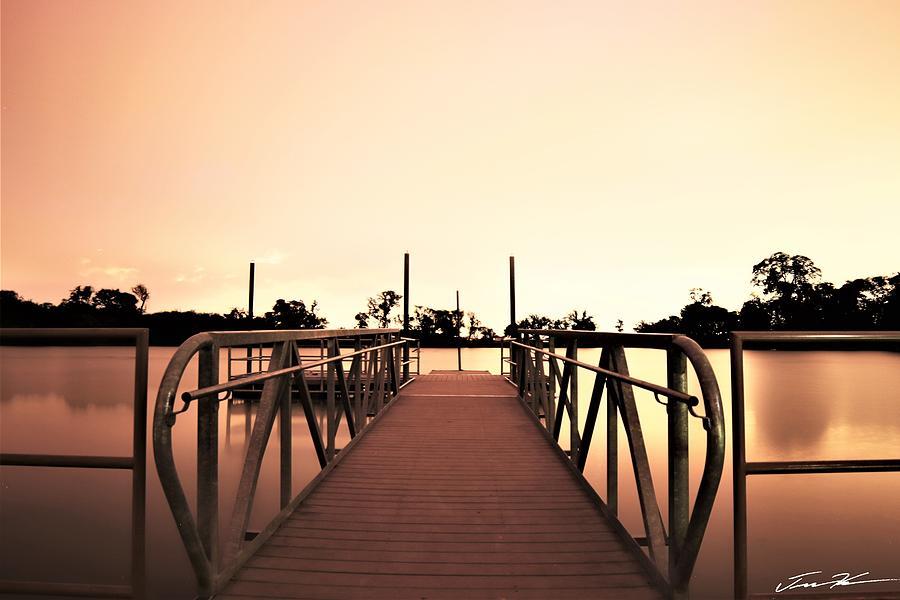 Pier at North West Community Park by Tim Kuret