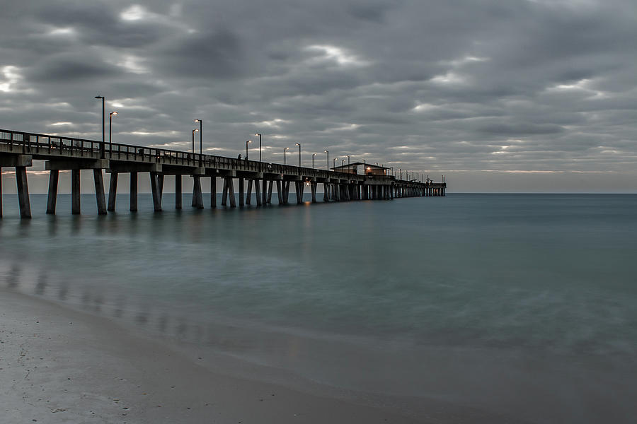 Pier Blue Green by Davin McLaird