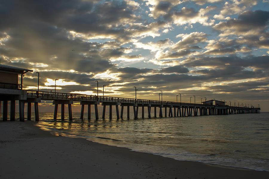 Pier Dawn by Davin McLaird