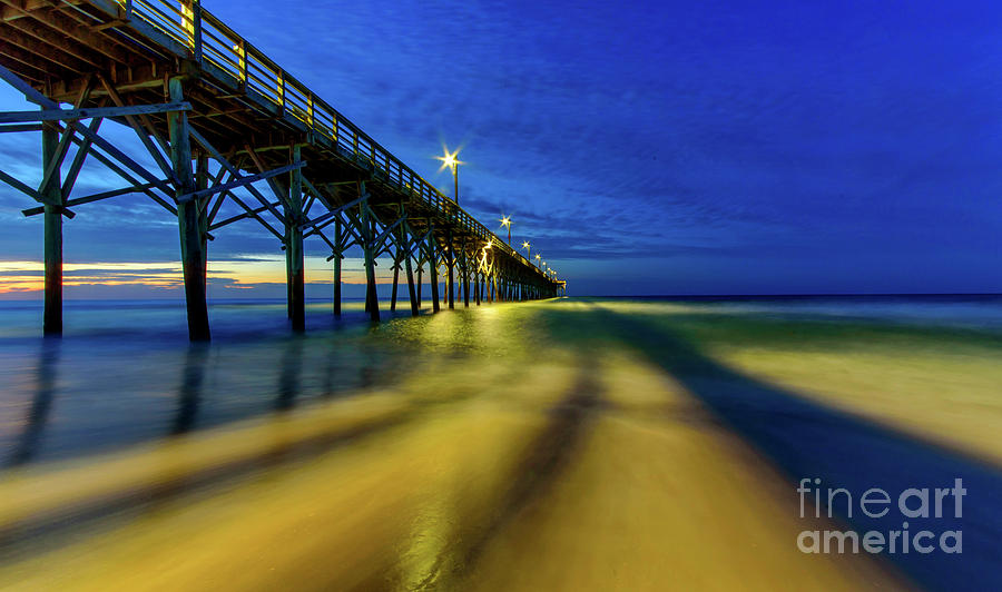 Pier Glow2 by DJA Images