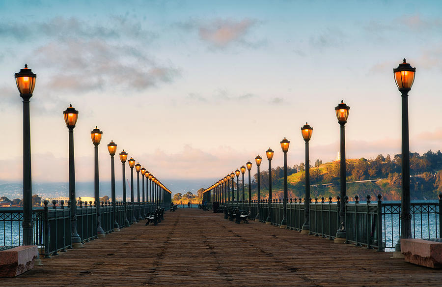 Pier Lighting by Suguna Ganeshan