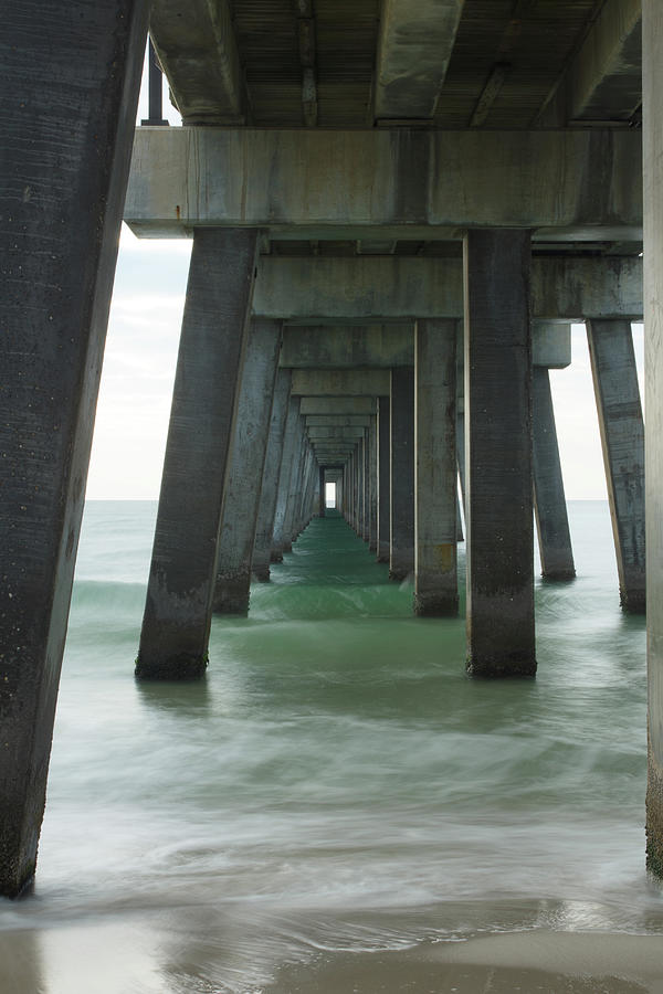 Pier Roll Tide by Davin McLaird
