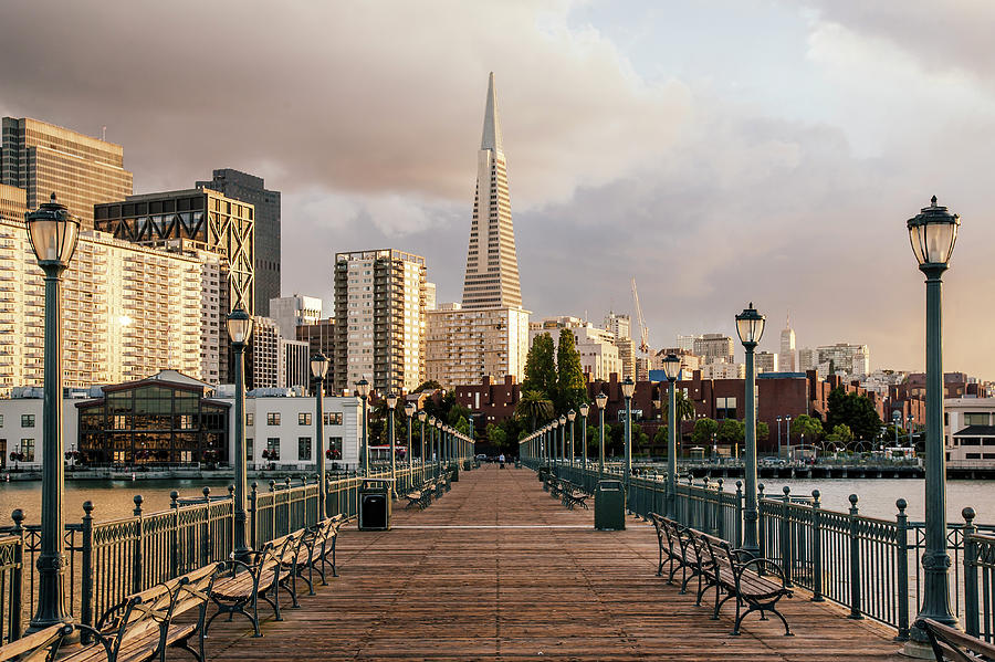 Pier Seven And Transamerica Pyramid Photograph by Alexander Spatari