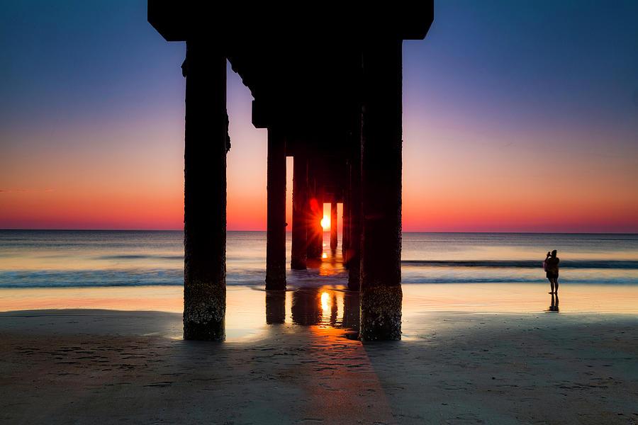 Pier Sunrise by Fran Gallogly