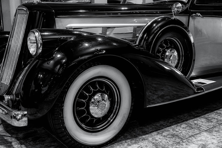 Automobile Photograph - Pierce Arrow Circa. 1937 by Michael Hope