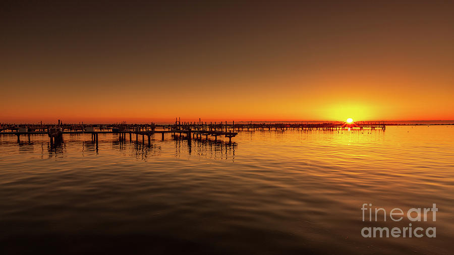 Pier'ing on Sunrise by Andrew Slater