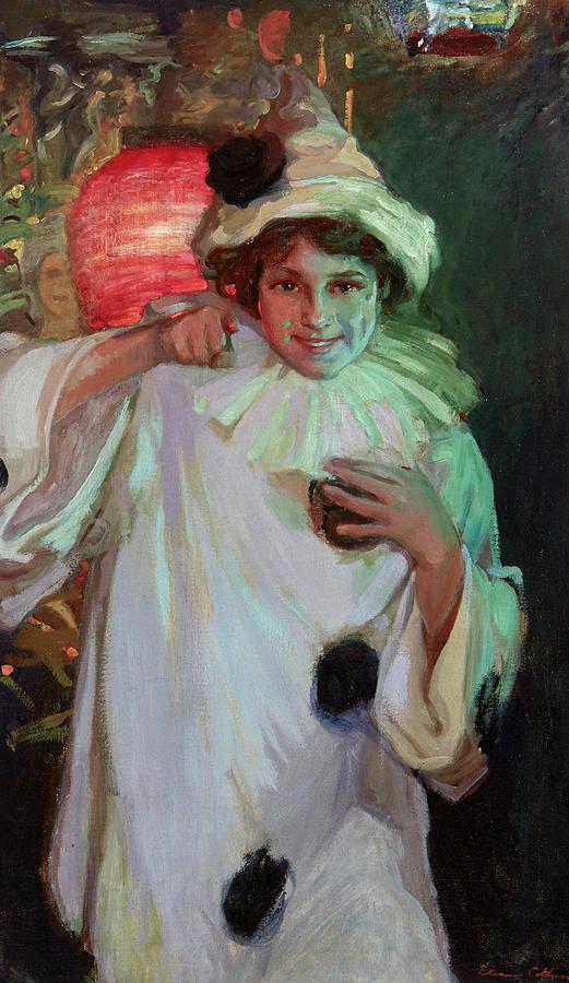 Colburn Painting - Pierot by Elanor Colburn