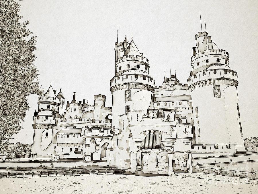 Pierrefonds Castle by Jurgen Huibers