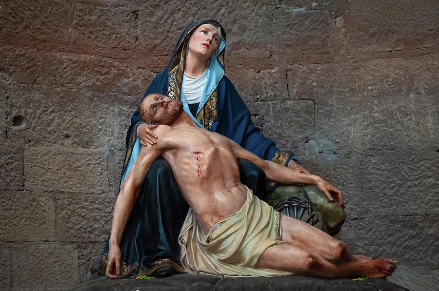 Pieta in San Lorenzo #1 by Dimitris Sivyllis