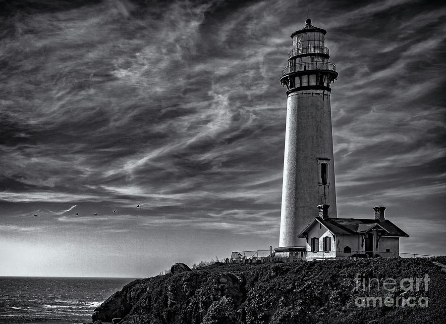 Pigeon Point Light Station by John A Rodriguez