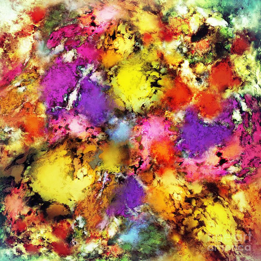 Pigments Digital Art - Pigment Noise by Keith Mills
