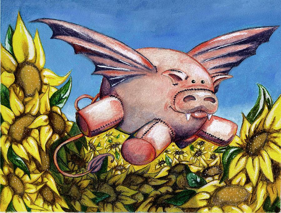 Pigs fly by Amanda Jane Kohler