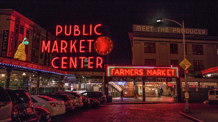 Pike Place Market.1 by E Faithe Lester