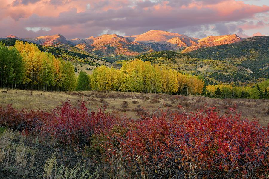 Pikes Peak - Autumn by Aaron Spong