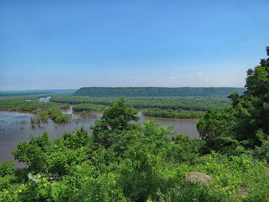 Pikes Peak View of Mississippi by Denise Winship
