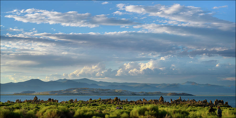 Pilgrimage To the Sunset, Mono Lake, CA, by Andy Romanoff