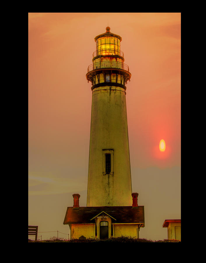 Pillar Point Lighthouse Photograph