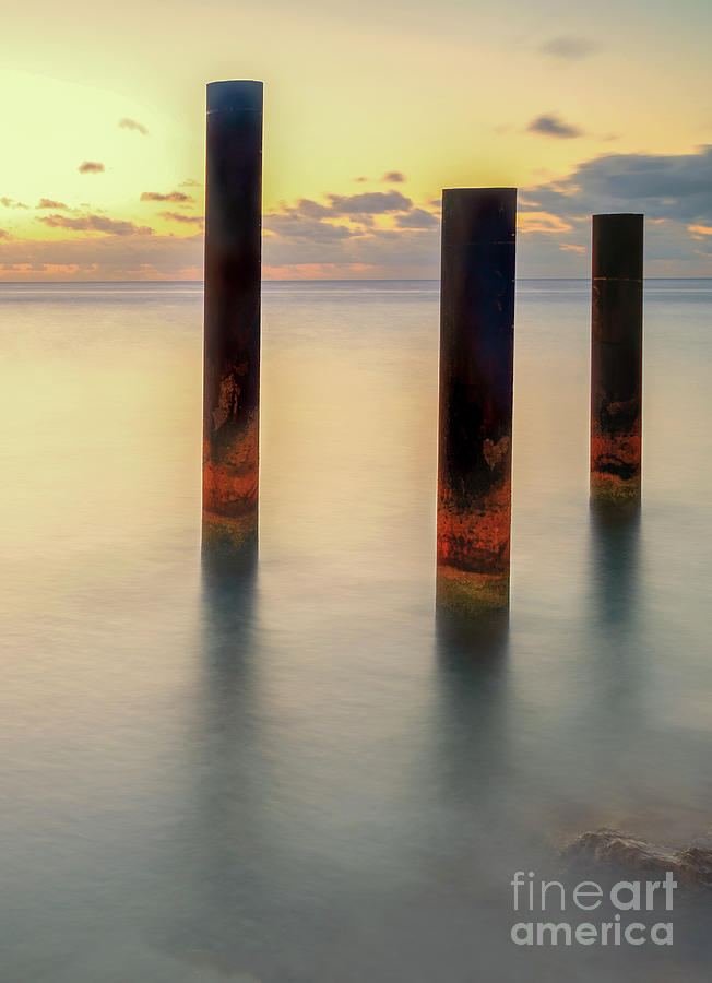 Pillars by Hugh Walker