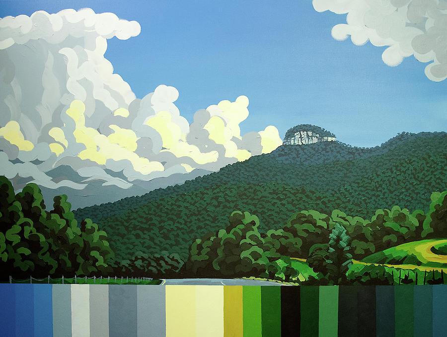 Pilot Mountain - Summer by John Gibbs