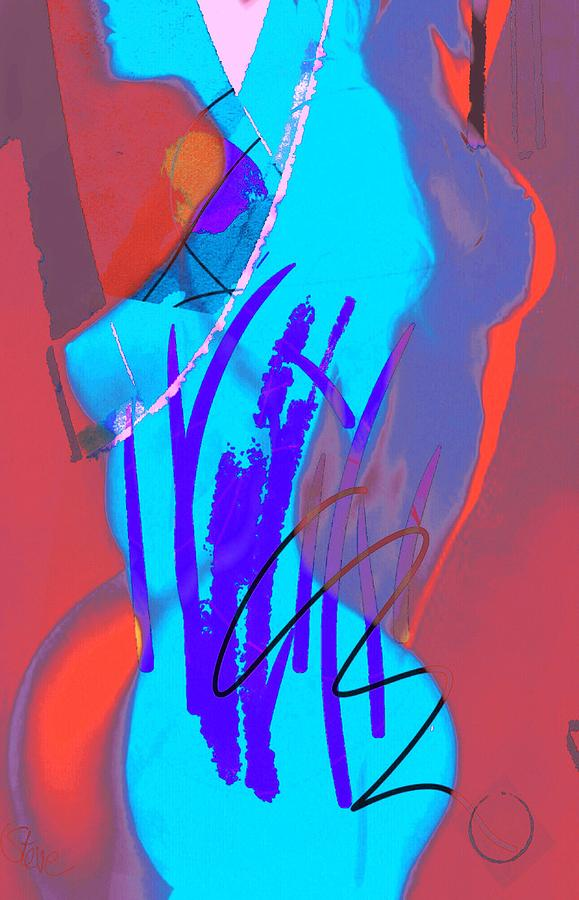 Dark Painting - Pinacolada by Steve K