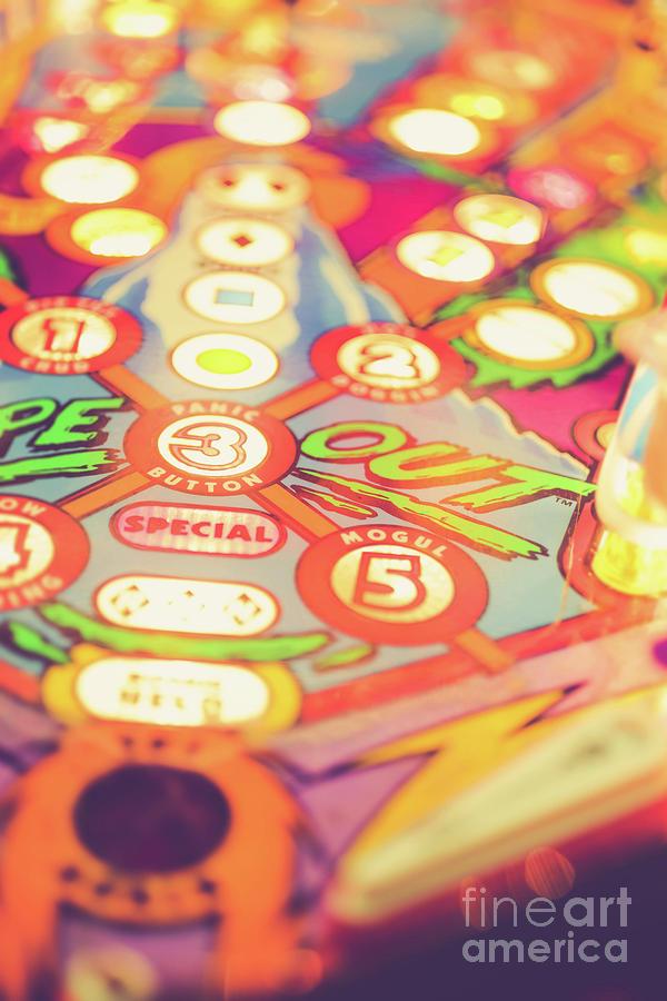 Pinball Machine Playfield by Edward Fielding