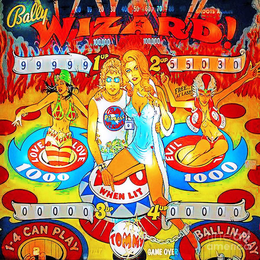 niin halpa uskomattomia hintoja koko 7 Pinball Wizard Arcade Nostalgia 20181220 Square