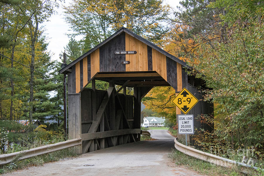 Pine Bridge Covered Bridge by John Greco