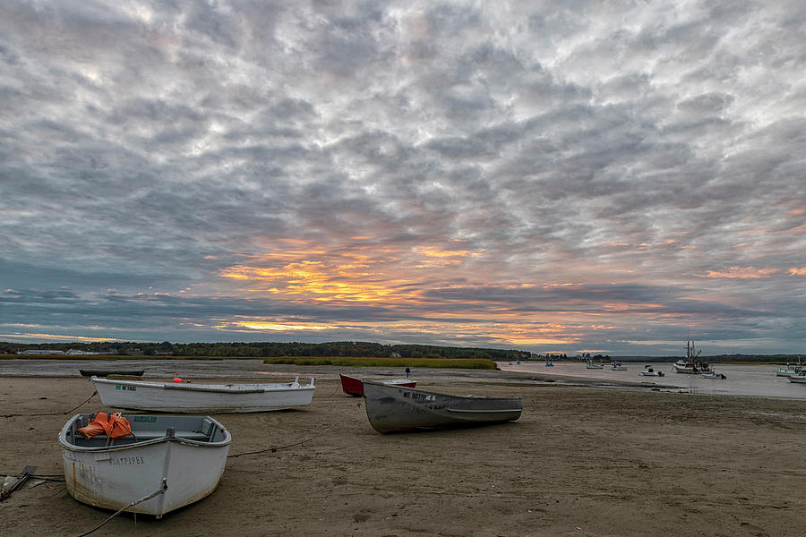 Pine Point Photograph - Pine Point, Maine by Bob Doucette