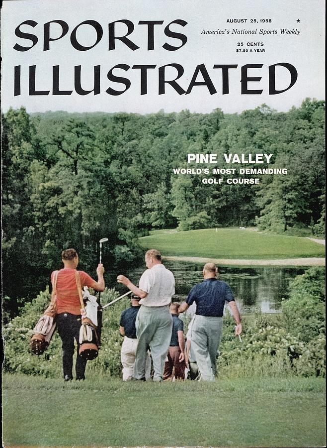 Pine Valley Golf Club Sports Illustrated Cover Photograph by Sports Illustrated