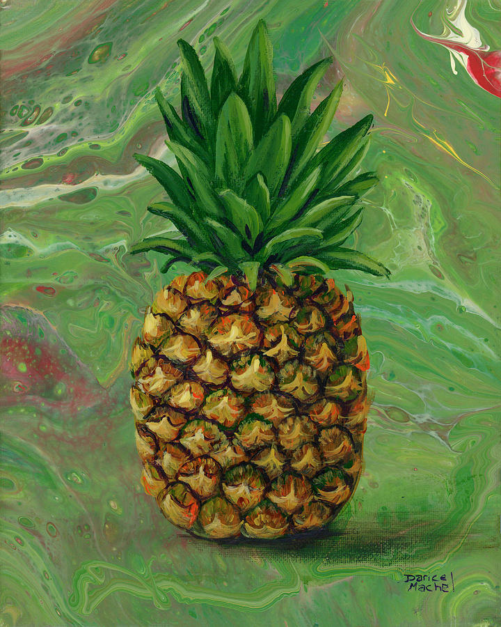 Pineapple Pour by Darice Machel McGuire