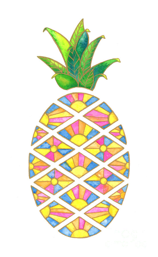 Pineapple Sunrise by Shelley Wallace Ylst