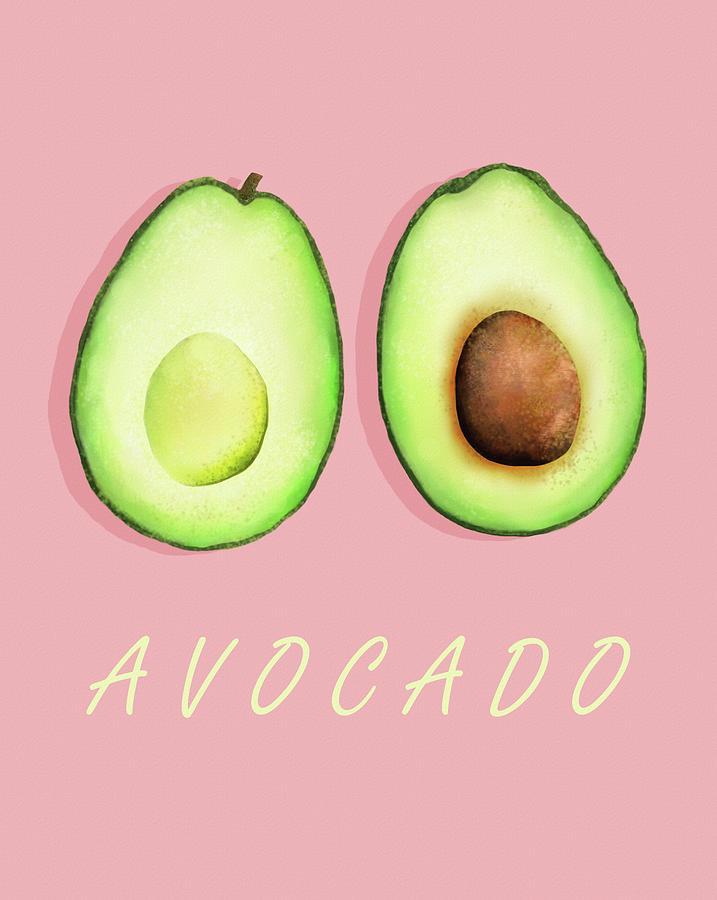 Pink Avocado by Joe Gilronan
