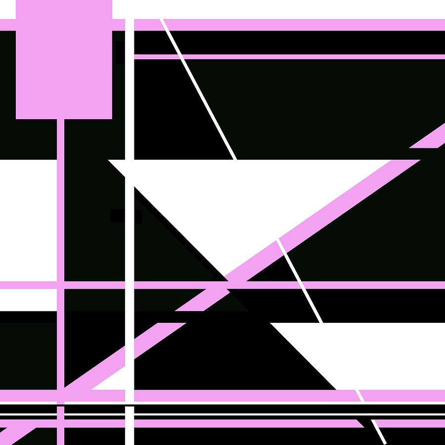 Pink Black 009 by Elastic Pixels