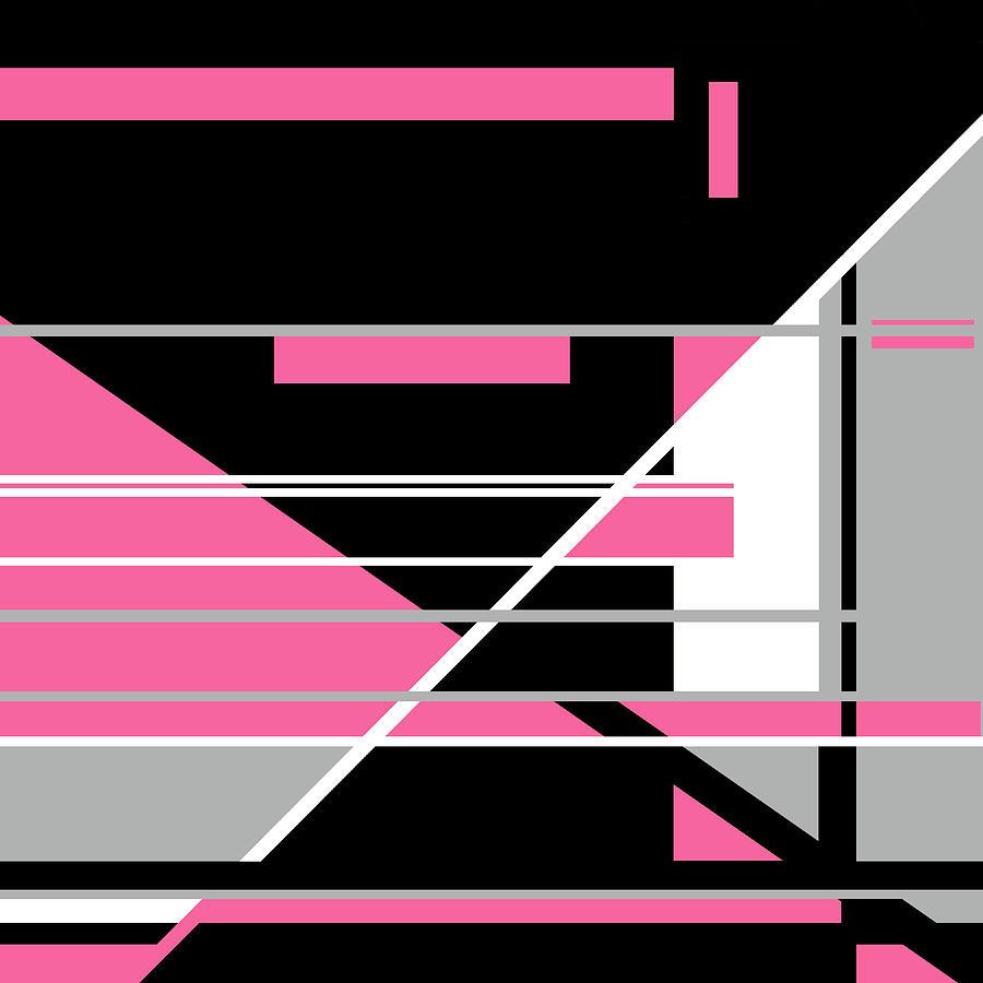 Pink Black 013 by Elastic Pixels