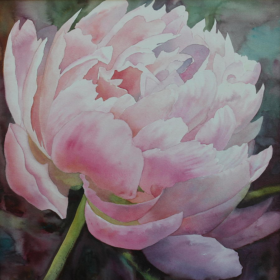 Pink Chiffon by Ruth Kamenev