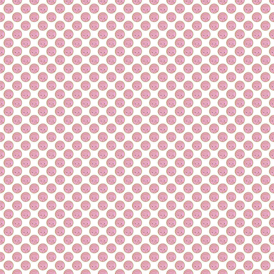 Pink Concha Pan Dulce Digital Art By Ivan Florentino Ramirez