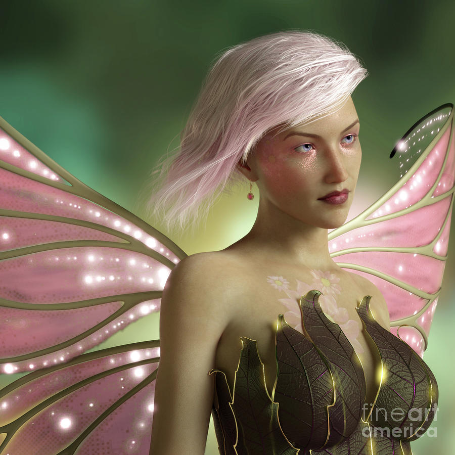 Pink Fairy by Elle Arden Walby