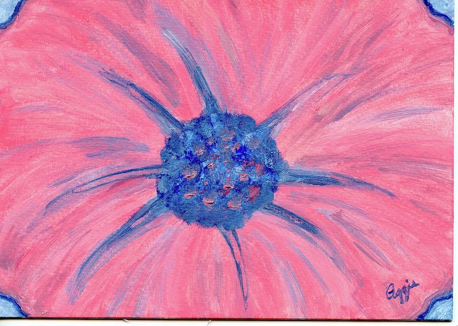 Pink Flower Power by Stephanie Agliano