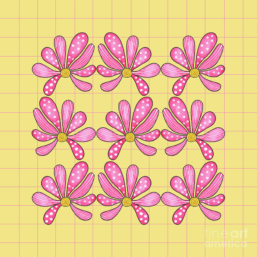 Pink Flowers by Shelley Wallace Ylst