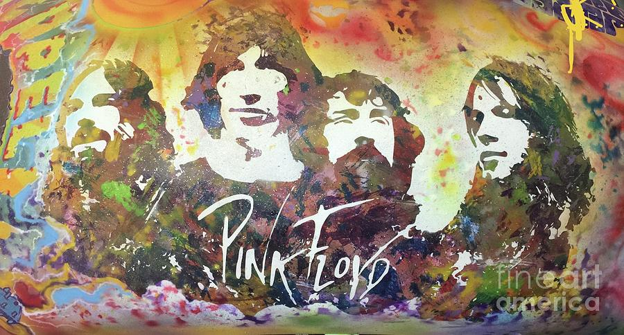 Pink Floyd Trippy Painting By Tim Murphy