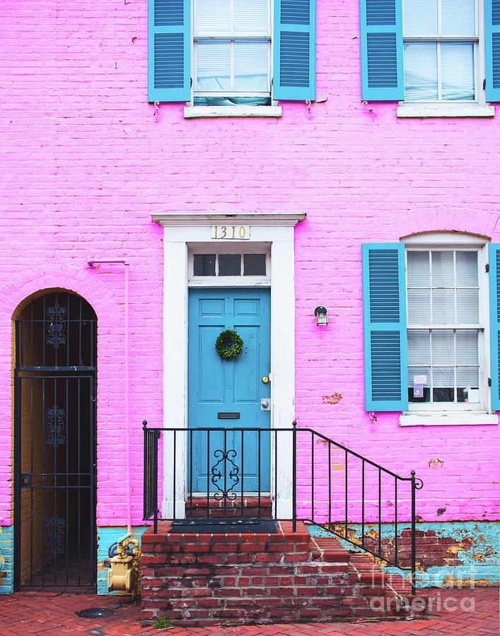 Pink Georgetown by Sonja Quintero