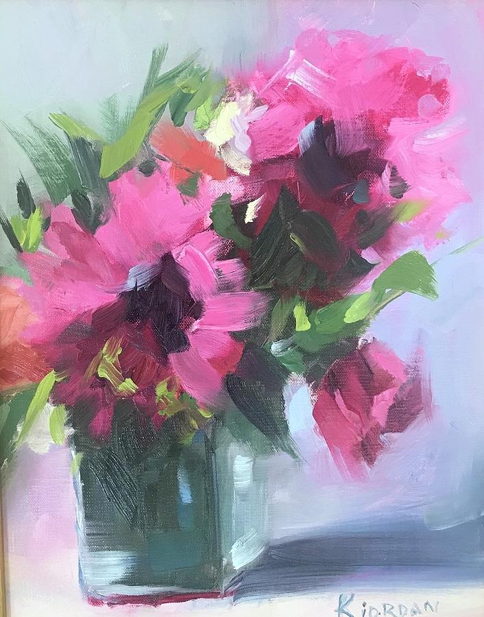 Pink Is The New Red Painting by Karen Jordan