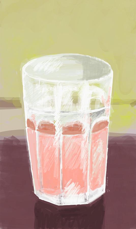 Pink lemonade digital art!