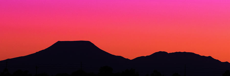 Pink Mesa Sunset by SR Green