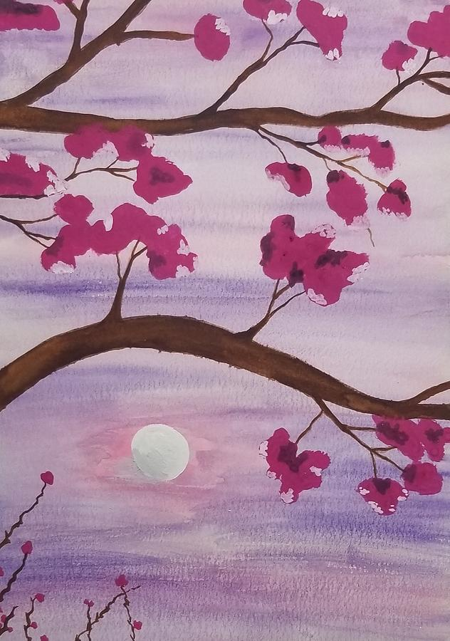 Pink Moon by KRISTIN MCDONNEL