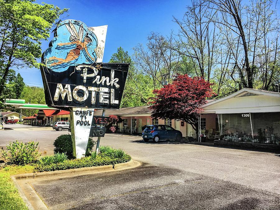Pink Motel IMG_4510 by Michael Thomas