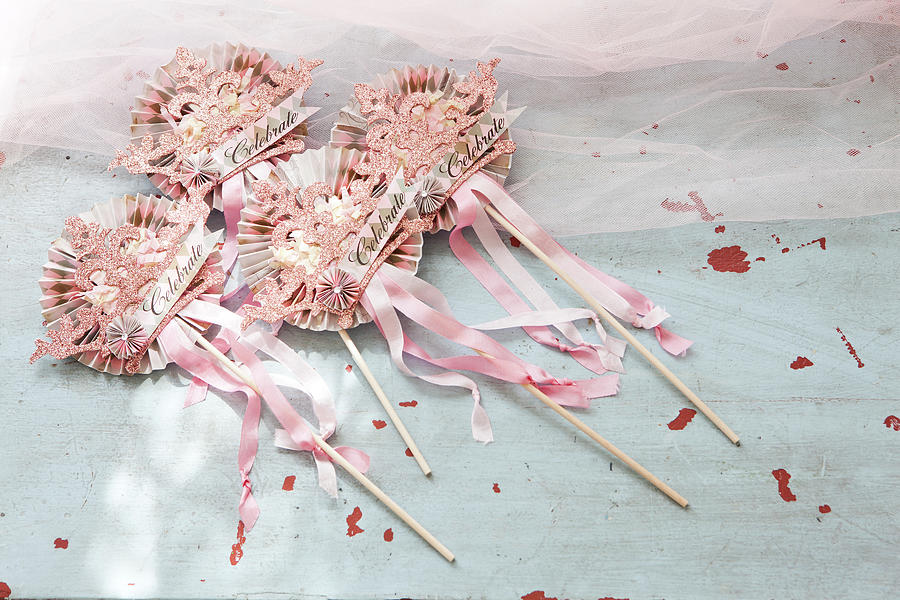 Pink Party Decorations Photograph by Amy Neunsinger