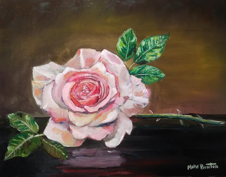 Pink Rose by Mike Benton