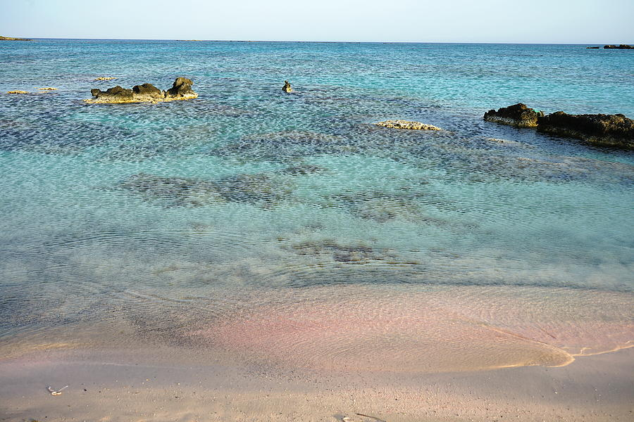 Elafonisi Photograph - Pink Sand Beach by Two Small Potatoes